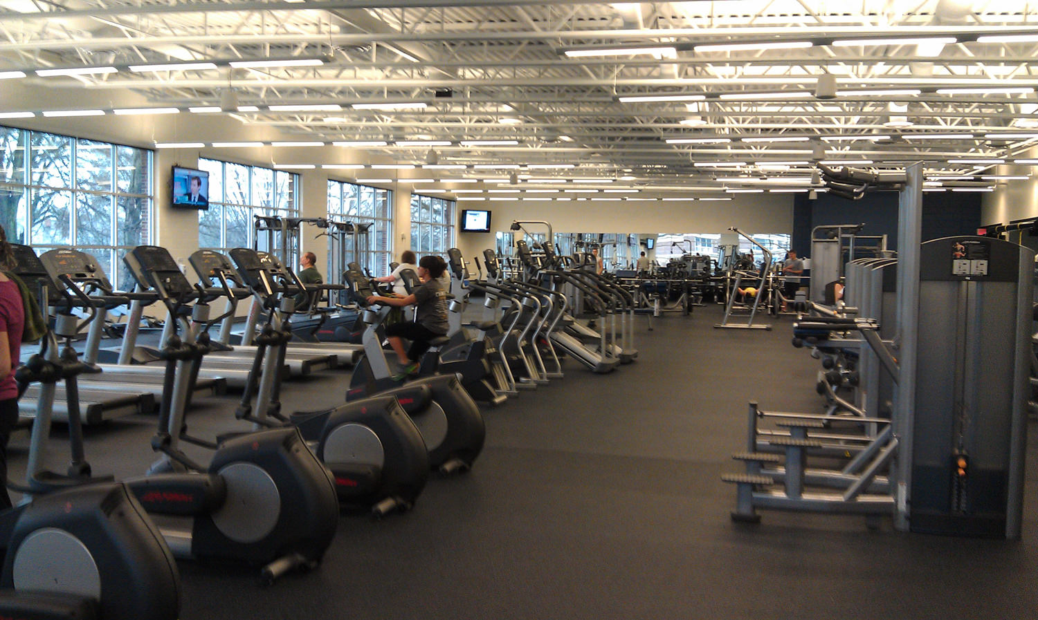 college fitness center Spring 2018 fitness center hours monday - friday 7 am - 1 pm, 4 - 7 pm closed from 1 - 4 pm.