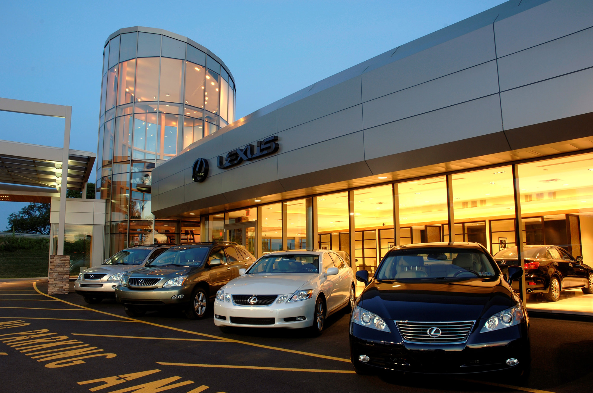 Lexus of Lehigh Valley « Iron Hill Construction Managet